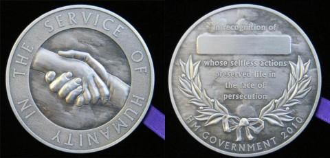 British Rescuers Medal
